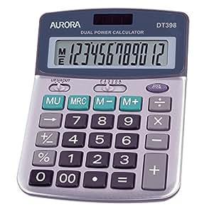 Aurora DT398 Calculatrice de bureau (Import Royaume Uni)