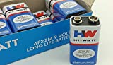 Hi-Watt 9v BATTERY (Set of 10)