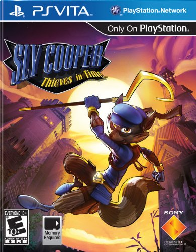Sly Cooper: Thieves in Time - M Ps Vita Spiele