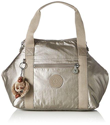 Kipling - Art S, Borse a secchiello Donna Oro (Metallic Pewter)