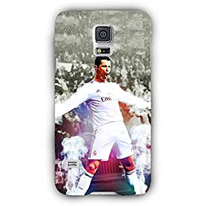EYP Cristiano Ronaldo Real Madrid Back Cover Case for Samsung S5