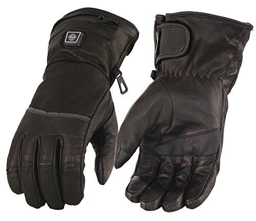 Preisvergleich Produktbild Milwaukee Leder Herren des beheizten GANTLET Handschuhe mit Touchscreen (schwarz,  X-Large)