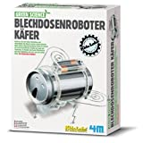 4M 663266 - Green Science - Blechdosenroboter Käfer -