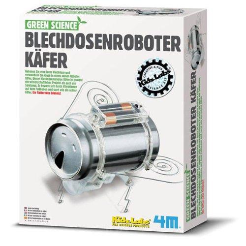 4M 663266 - Green Science - Blechdosenroboter Käfer