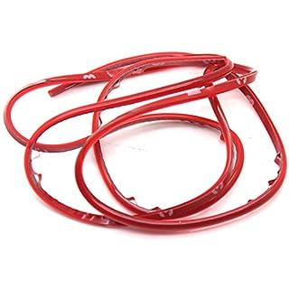 ASTrade 1m DIY Auto Innen & Außen Dekoration Strip Line Auto Wunderbar, Mini farbigen 1PC rot