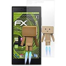 atFoliX Protección de Pantalla para Cubot S308 Lámina protectora Espejo - FX-Mirror Protector Película con efecto espejo