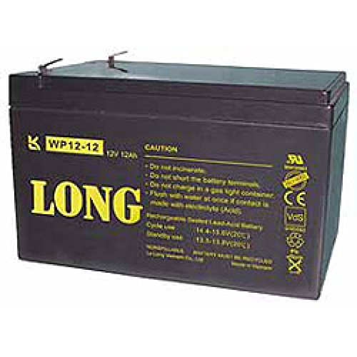 Kung Long WP12-12, 12Volt, 12Ah VDS G100036, Faston 6,3mm -