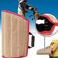 Colinsa Perros–Kit de Entrenamiento Carcasa Protección Brazo + Yute Duradera para formación Junger Perro de tamaño Mediano Perros Entrenamiento Supplies, 45x 29cm