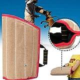 Colinsa - Kit di Allenamento per Cani, Protezione per Le Braccia + Juta Durevole per addestramento di Cani di Taglia Media, 45 x 29 cm
