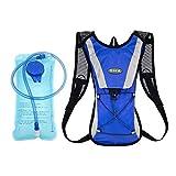 SKL Trinkblase + Rucksack, Hydration Pack Trinkbeutel 2L Radfahren/Wandern/Klettern