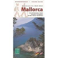 Mallorca guida escursionistica e di una serie di 7 carte topografiche (Serra de Tramuntana, Llevant, Formentor, Sa Dragonera, Son Real, Planícia, Cap des Pinar) GR 221, GR 222