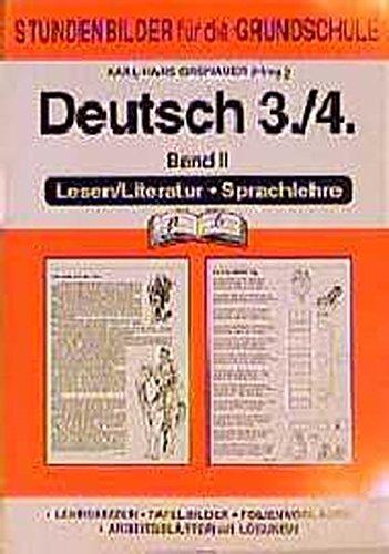 Stundenbilder Deutsch 3./4. Schuljahr Lesen/Literatur Sprachlehre