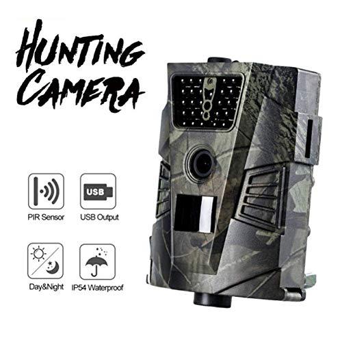 LQUIDE Jagd-Kamera, Wildlife-Kamera 1080P 12MP Wild Hunting, Bewegungsaktivierte Nachtsicht IP54 wasserdicht, für Wildlife Monitoring
