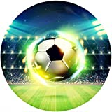 Fußball Runde Tortenaufleger -2