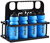 Mitre Botellas de agua de 80 cl y caja de plástico