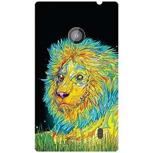 Nokia Lumia 520 Phone Cover - Colored Art Matte Finish Phone Cover