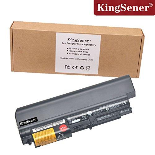 85Wh kingsener Laptop-Akku für ThinkPad R400T400FRU 42T4644ASM, R61T61T61p (35,8cm Widescreen) 9Zellen