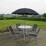 Garden Mile - Lot de 6articles de mobilier de jardin extérieur - Ensemble de salle...