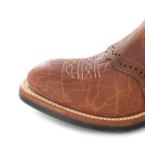 Boulet  3131, Bottes et bottines cowboy femme Marron - Cognac Butterscotch