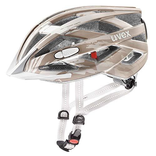 Uvex City I-VO Fahrrad Helm Champagne grau 2019: Größe: 52-57cm