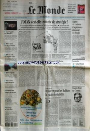 MONDE (LE) [No 16864] du 15/04/1999 - LE...