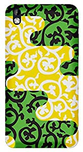 TrilMil Printed Designer Mobile Case Back Cover For HTC DESIRE 816 / 816G