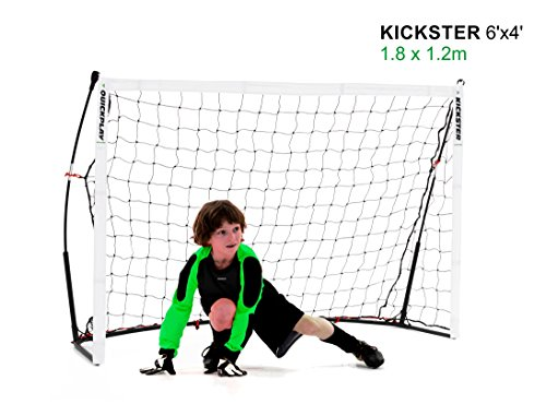 QUICKPLAY Kickster Academy Tragbares 2,4 x 1,5m Fußballtor thumbnail
