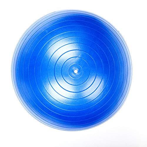 WanNing (Blau) 55cm Fitnessball, Anti-Burst Und Extra Dick, Schweizer Ball Mit Schnellem Pump, Yoga, Pilates, Fitness, Schwangerschaft Und Künstlichem Geburtsball