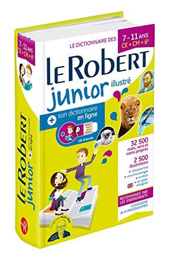 Dictionnaire Le Robert Junior illustré et son dictionnaire en ligne - 7/11 ans - CE-CM-6e par Collectif