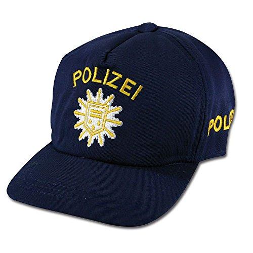 Unbekannt Kinder Polizei Baseballcap blau