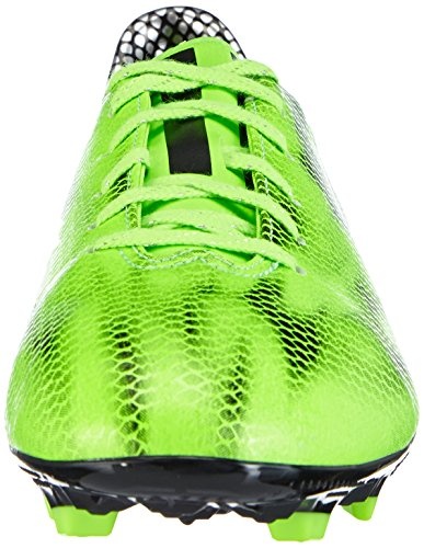 adidas  F10 FG, Chaussures de football homme Vert - Grün (Solar Green/Core Black/Core Black)