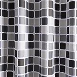 Duschvorhang 200x220 cm (BxH), Rosa Schleife Anti-Schimmel Anti-Bakteriell Wasserabweisender Shower Curtains Liner weichem Polyestergewebe Bath Curtains Vorhang aus Schöne Muster für Badezimmer WC Vergleich