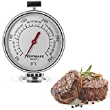 Westmark Oven Thermometer, Silver