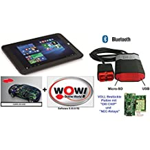 dispositivo de diagnóstico profesional para Automóviles, con software WOW, con Bluetooth OBD OBD2 Incluye Tablet 2017