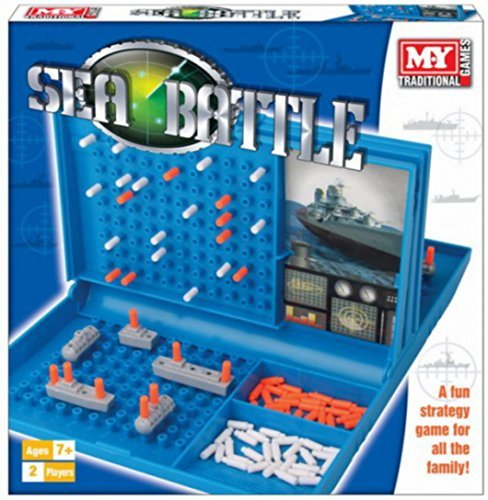 Sea Battle 'Battleships' Game by M.Y