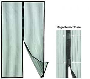 fliegengitter insektenschutzvorhang mit magnetverschluss f r balkont ren garten. Black Bedroom Furniture Sets. Home Design Ideas