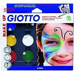 Giotto - Juego de maquillaje para cara y cuerpo