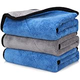 OAN All Purpose Microfiber Cloth for Cleaning, Dusting, Detailing & Polishing (All Vehicles, Office, Kitchen, Home…