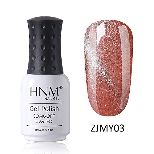 HNM Vernis Semi-Permanent Starry 3D Oeil de Chat Gel Vernis À Ongles Vernis UV Couleur LED Soak Off Salon De Manucure 8ML ZJMY-03