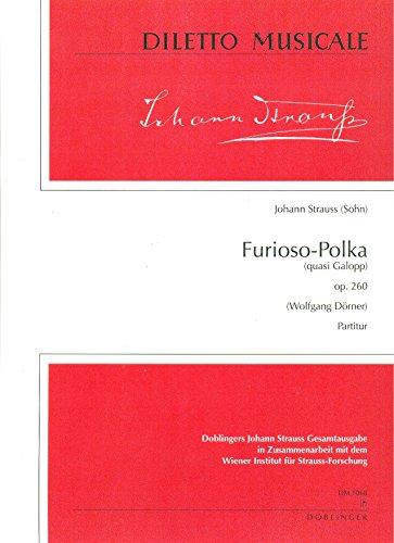 FURIOSO DE POLKA OP 260: PARA ORQUESTA PARTITUR