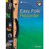 Easy Folk Enregistreur–arrangés pour flûte à bec soprano–avec CD [Notes/sheetm usic]