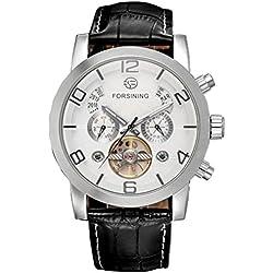 LEORX Elegant Men Automatic Mechanical Wrist Watch Precise watch