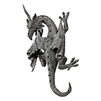 Design Toscano PD1376 Horned Dragon of Devonshire Wall Sculpture by Design Toscano