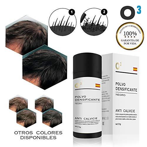 O³ Fibras Capilares Negro 27