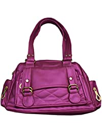 Pink Soft Stylish Ladies Hand Bag - Daily Use Hand Bag For Girls