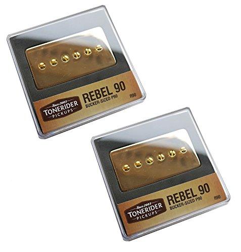 Gitarre Pickups P90 (Tonerider Rebel 90Humbucker Größe P90Gitarre Pickup Alnico II–Hals & Steg)