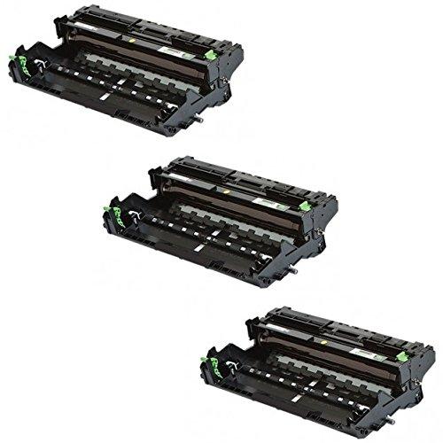 Preisvergleich Produktbild 3 Trommeleinheiten kompatibel für Brother DCP-L5500 DN, L6600 DW / HL-L5000 D, L5100 DN DNT DNTT, L5200 DW DWT, L6250 DN, L6300 DW DWT, L6400 DW DWT DWTT / MFC-L5700 DN, L5750 DW, L6800 DW DWT, L6900 DW DWT / DR3400 DR-3400 DR 3400 Schwarz / Black (30.000 Seiten)