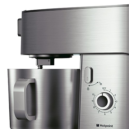 Hotpoint Multi-Functional Kitchen Machine, 400 Watt, Silver
