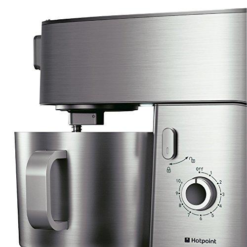Hotpoint Multi-Functional Kitchen Machine, 400 Watt, Silver