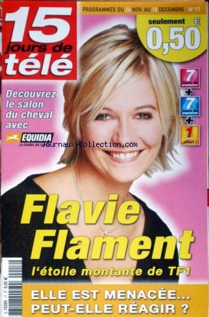 15 JOURS DE TELE [No 17] - LE SALON DU CHEVAL - FLAVIE FLAMENT.